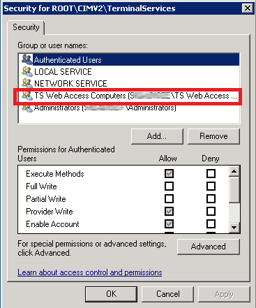 Applications are not visible in RDWEB access – ELVIS'S