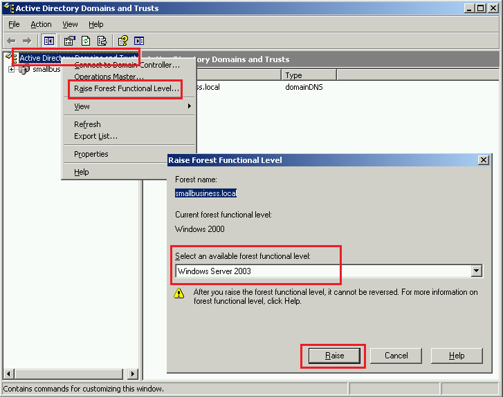 Step-by-step DC migration from SBS 2003 to Essentials 2012R2